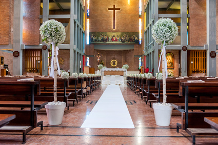 church ready for marriage