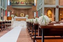 church ready for wedding